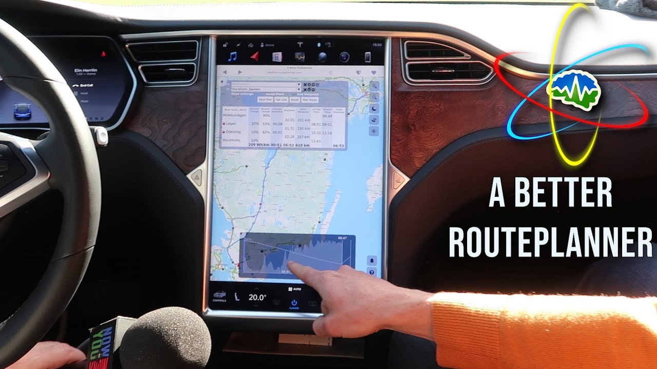 A Better Routeplanner for Your Tesla!