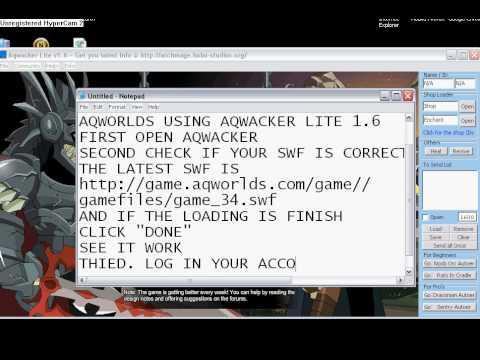 AQWACKER V1.1 BAIXAR LITE