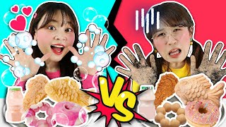 Real Food vs Soap TASTE TEST CHALLENGE | Xiaoling toy