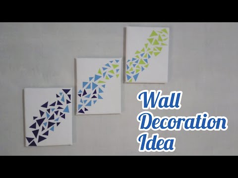 wall decoration ideas | wall hanging craft ideas |diy Home decor | easy wall hanging craft idea