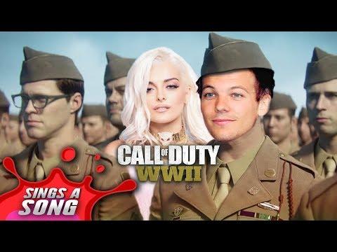 Louis Tomlinson + Bebe Rexha - Back To WW2 (COD WW2 Parody)