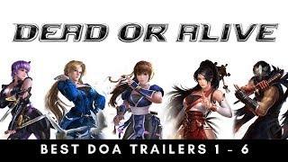 DEAD OR ALIVE 1 - 6 Intro/Trailers