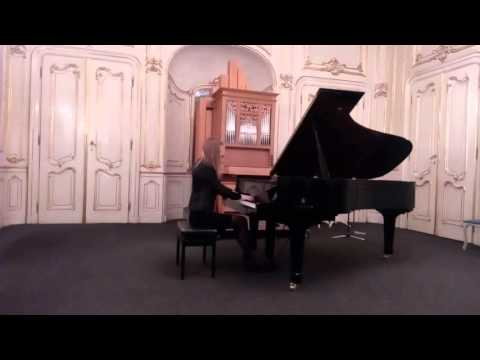 """Yelyzaveta Mys - """"Un Sospiro"""", F. Liszt"""
