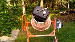 Czyszczenie zbiornika paliwa z rdzy, Cleaning inside of gas tank out of rust,