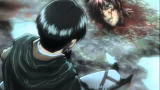 Вторжение титанов ---- Гнев Леви