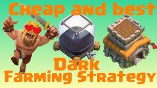 Clash of Clans | Best Dark Elixir Farming Strategy TH 8 (TOWNHALL 8) Full HD |