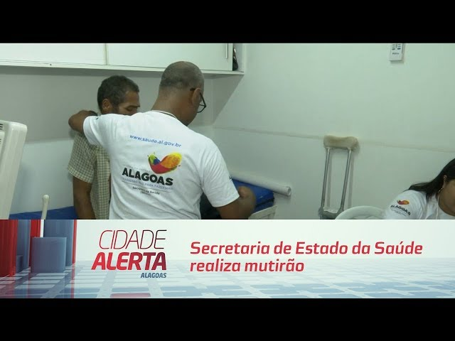 Secretaria de Estado da Saúde realiza mutirão de cirurgias no Benedito Bentes