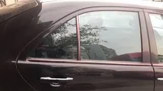 Выдвижные  шторки  Mercedes W210