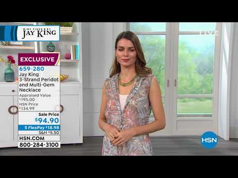 HSN | Mine Finds By Jay King Jewelry . http://bit.ly/2YfGq9c