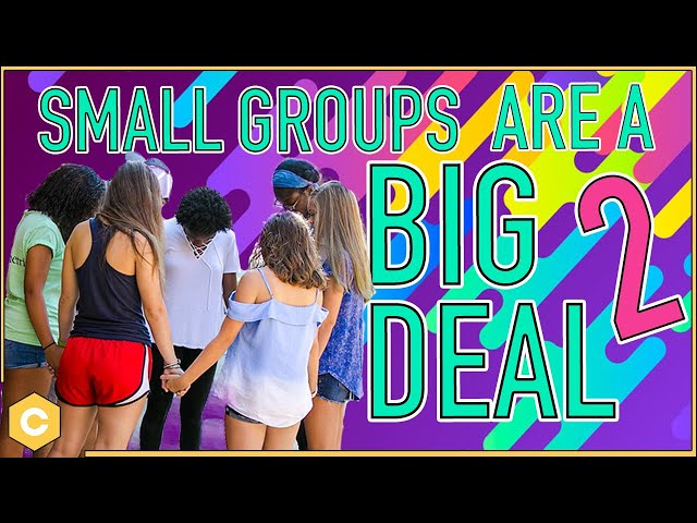 Small Groups Are A Big Deal Pt.2 l Custom Students