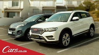 New Haval H6C vs Kia Sportage - Head-to-head Review