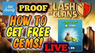 How to get free gems in Clash of Clans with proof using Appbounty TamilGamers