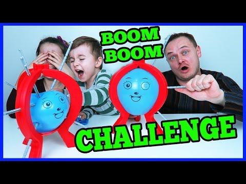 BOOM BOOM BALLOON CHALLENGE Provocare La Cine Se Sparge Balonul Acela Pierde ALEX vs Parintii