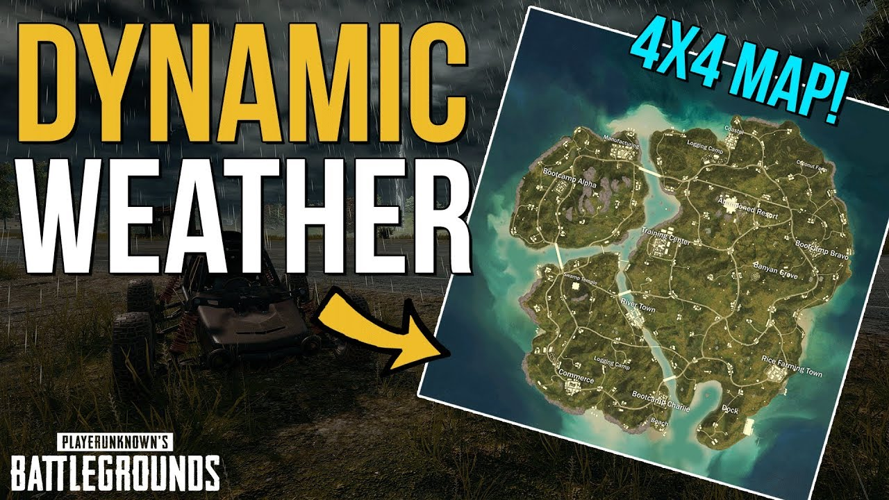'PlayerUnknown's Battlegrounds' adds dynamic weather in latest update
