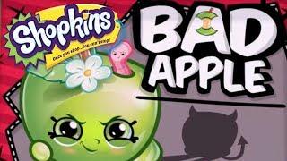SHOPKINS Cartoon - BAD APPLE | Cartoons For Children