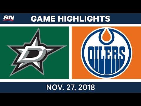 NHL Highlights | Stars vs. Oilers - Nov 27, 2018