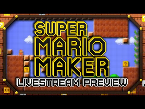 Let's Play Super Mario Maker: 1-Hour Gameplay Preview! (Wii U)