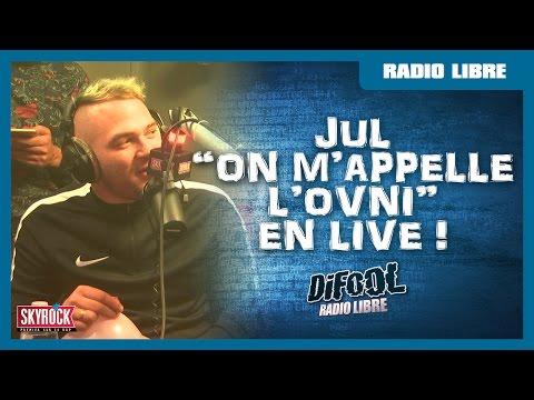 """Jul Feat. Romano """"On m'appelle l'ovni"""" version à l'hélium dans la RadioLibreDeDifool"""