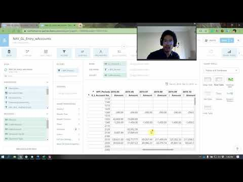 Domo - how to build a Trial Balance, Income Statement and Balance Sheet with no ETL
