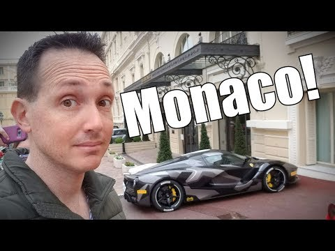 The Parking Garages of Monaco!