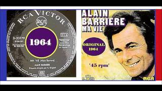 Alain Barriere - Ma vie (Vinyl)