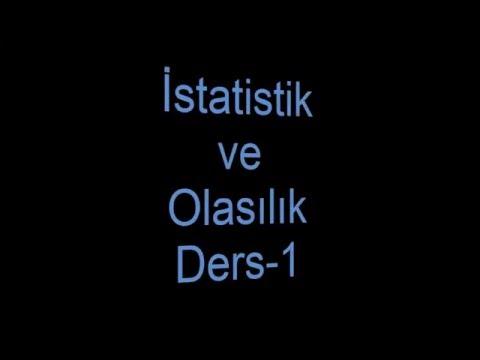 İstatistik ve Olasılık Dersi-Özel Anatım-Çeyrekler,Varyans,Standart Sapma