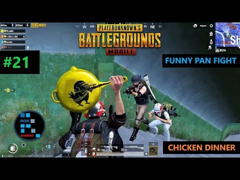 [Hindi] PUBG MOBILE   FUNNY PAN RUSH FIGHT WITH FAN IN THE END ZONE CHICKEN DINNER