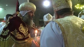 Egyptian Coptic Christians celebrate Christmas