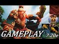 7.20 MID TROLLING ACTION! Troll Warlord Gameplay Commentary Dota 2