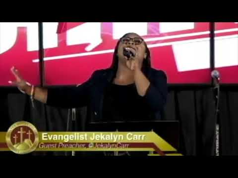 Jekalyn Carr flowing in the prophetic prayer