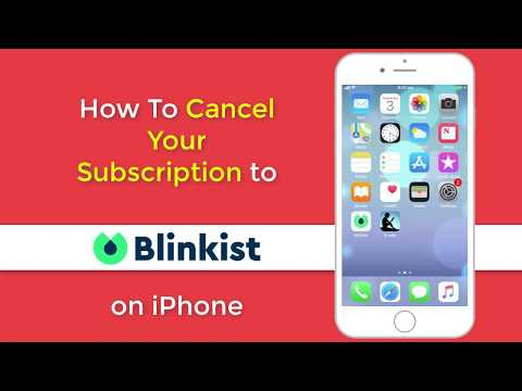 How to Cancel your Blinkist Free Trial on iPhone
