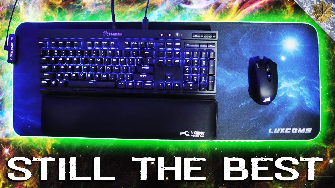 The Best Rgb Gaming Mouse Pad Luxcoms Youtube