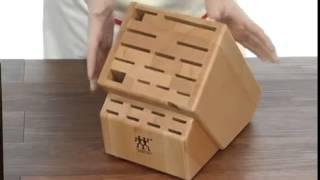 Wood Knife Block - J.a. Henckels