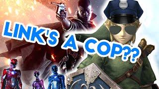 LINK IS A COP?? Legend of Zelda Movie, New Power Rangers and Battlefield 1