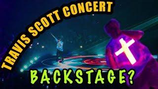 BACKSTAGE AT A TRAVIS SCOTT CONCERT!!! RAGE GONE WILD!!!