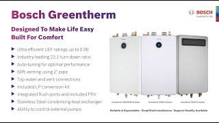 Bosch Greentherm 9000