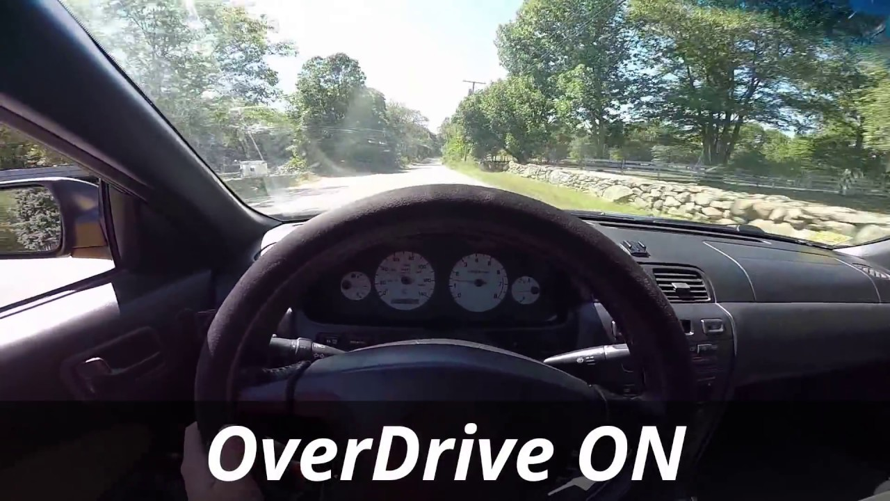 Overdrive on off differences