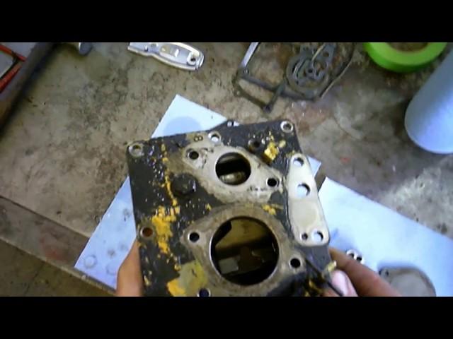Injection pump fuel leak on Cat 3208