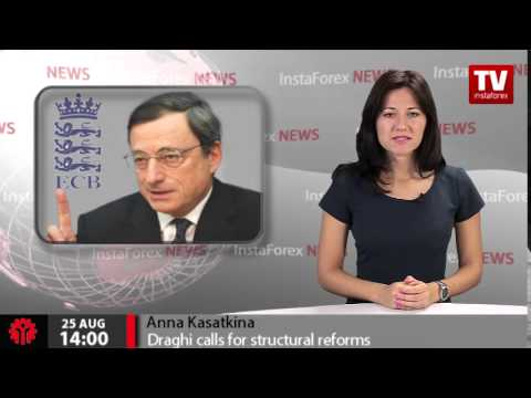 Draghi calls for structural reforms