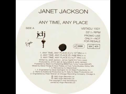 Janet Jackson - Anytime, Anyplace (CJ's 12'' Mix) (1994)