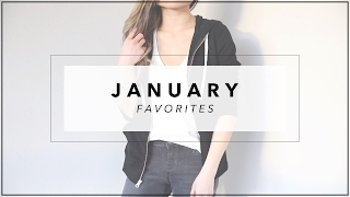 JANUARY Monthly Favs | Things I've Been Loving Product Reviews | Miss Louie