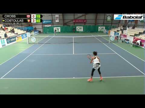 CROSS (CAN) vs COSTOULAS (BEL) - Open Super 12 Auray Tennis - Court 4