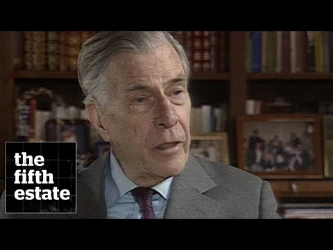 John Kenneth Galbraith : The Economy after the Cold War (1989) - the fifth estate
