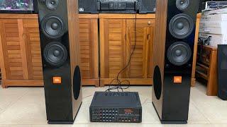 Bộ karaoke gia đình giá rẻ Loa JBL KP-104 ,Ampli PA -203N Giá 4tr2