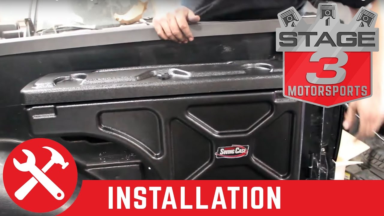 2004 2014 F 150 Undercover Swing Case Storage Box Install