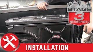 2004-2014 F-150 Undercover Swing Case Storage Box Install