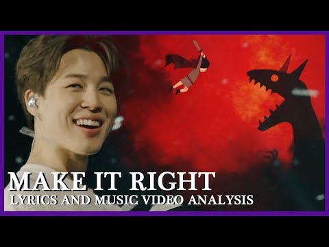 BTS (feat. LAUV) MAKE IT RIGHT Meaning Explained: Lyrics and MV Breakdown and Analysis