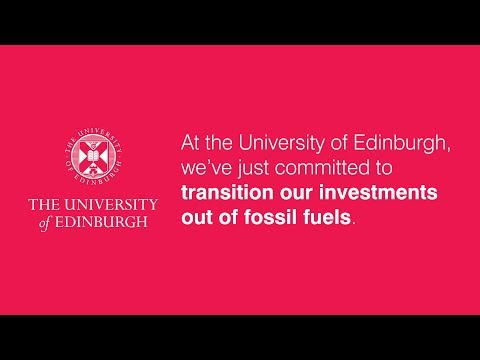 Our transition out of fossil fuel investments