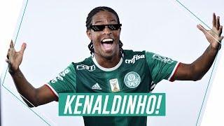 Keno foi um dos destaques do Palmeiras na temporada de 2017. Com go...