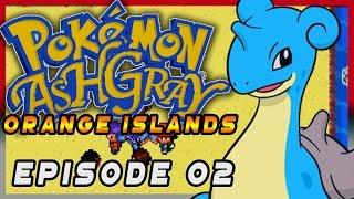 Pokemon Ash Gray Orange Islands Episode 02 - GS Ball! Gameplay Walkthrough